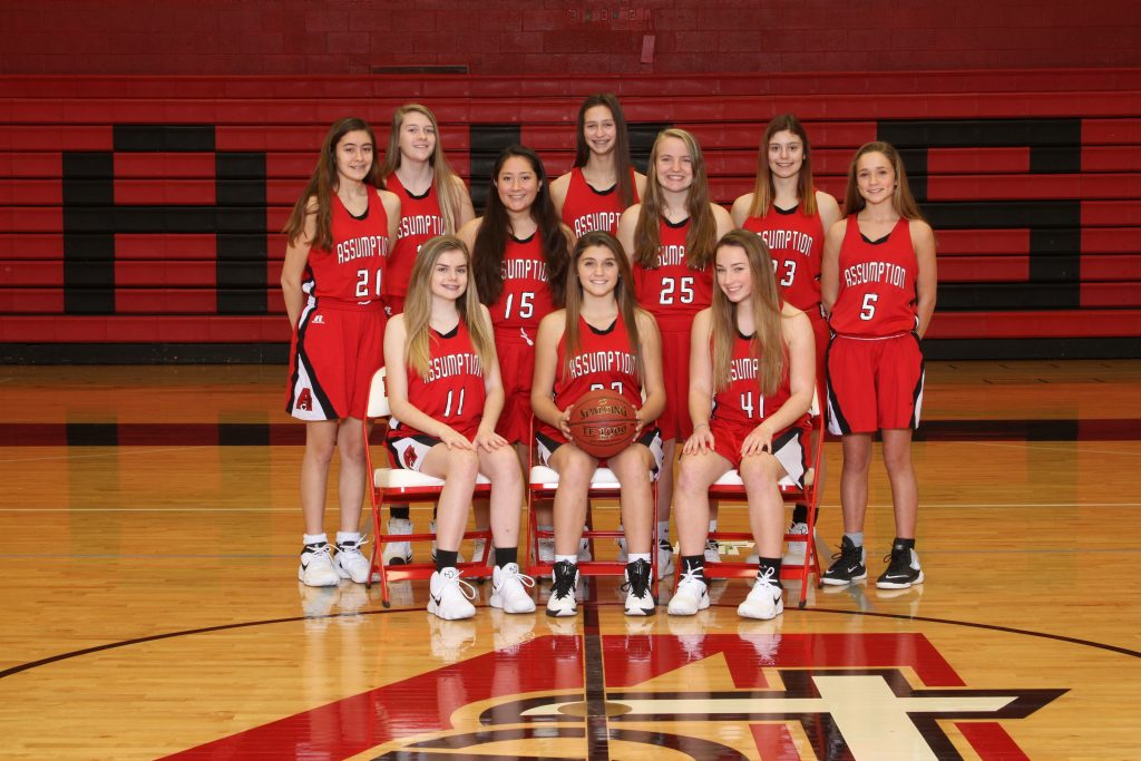 2017-18 Assumption Freshman Girls Basketball