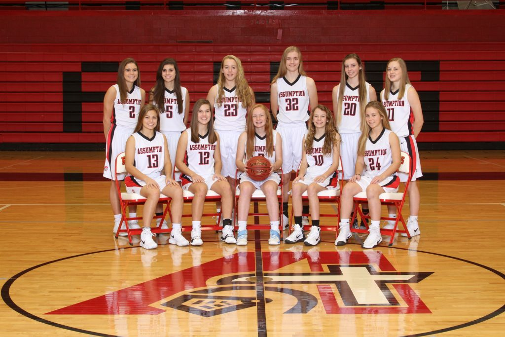 2017-18 Assumption Junior Varsity Girls Basketball